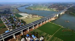 简蒲高速公路沱江特大桥