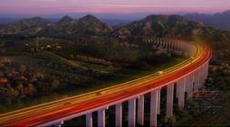 北京兴延高速公路(效果图)